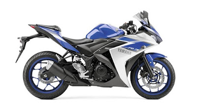 Yamaha YZF-R3 right side angle