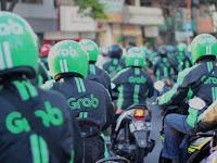 """Merasa Dibohongi, Ribuan Pengemudi Grab di Medan """"Serbu"""" Kantor Manajemen"""