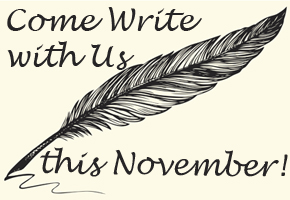 come write with us this november