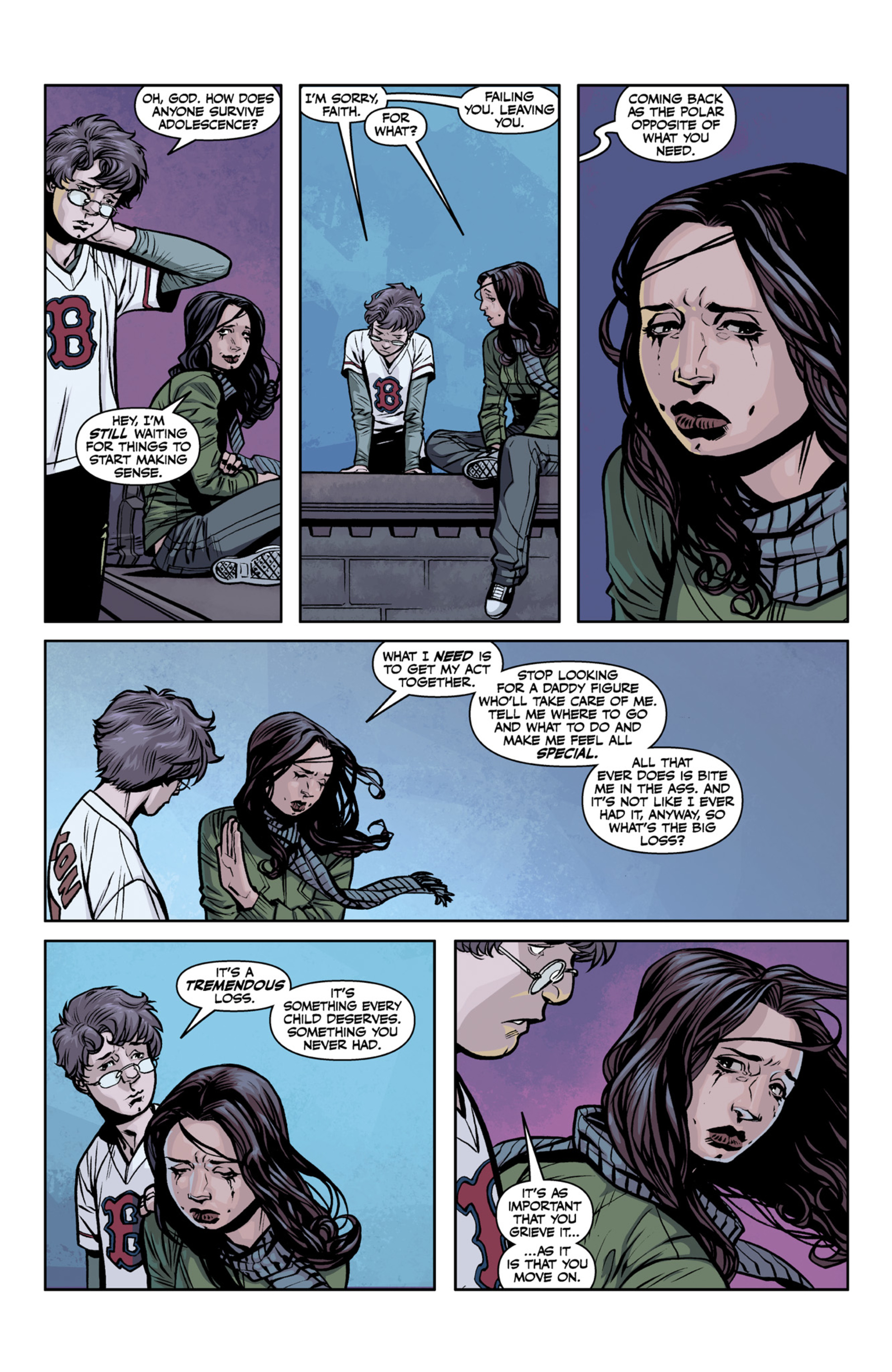Read online Angel and Faith comic -  Issue #22 - 15