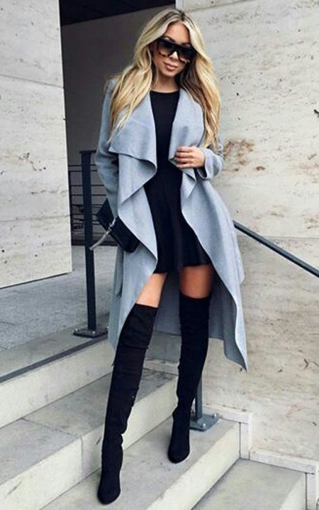 Outfits Club: Modern Babe Styles or The Latest 2016/17 Winter Fashion Trends