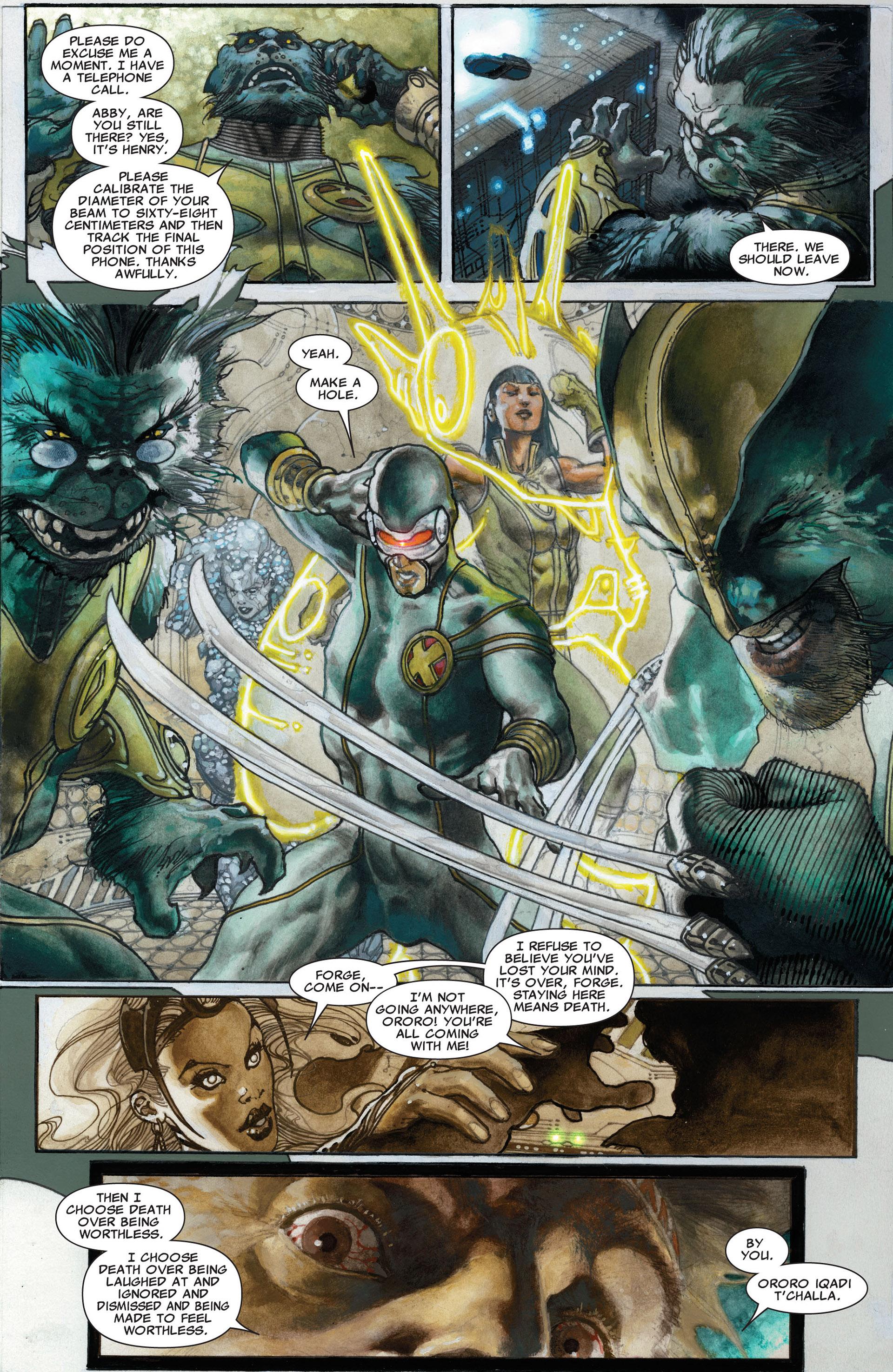 Read online Astonishing X-Men (2004) comic -  Issue #30 - 14