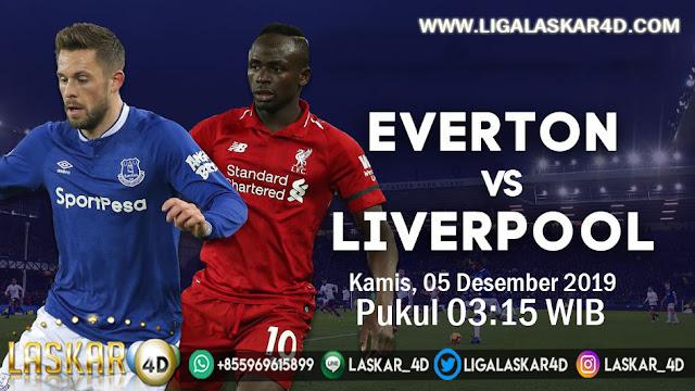 Prediksi Pertandingan Bola Liverpool vs Everton 05 Desember 2019