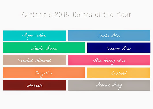 5 Outfits Using Pantone Colors of the Year (Part 1)