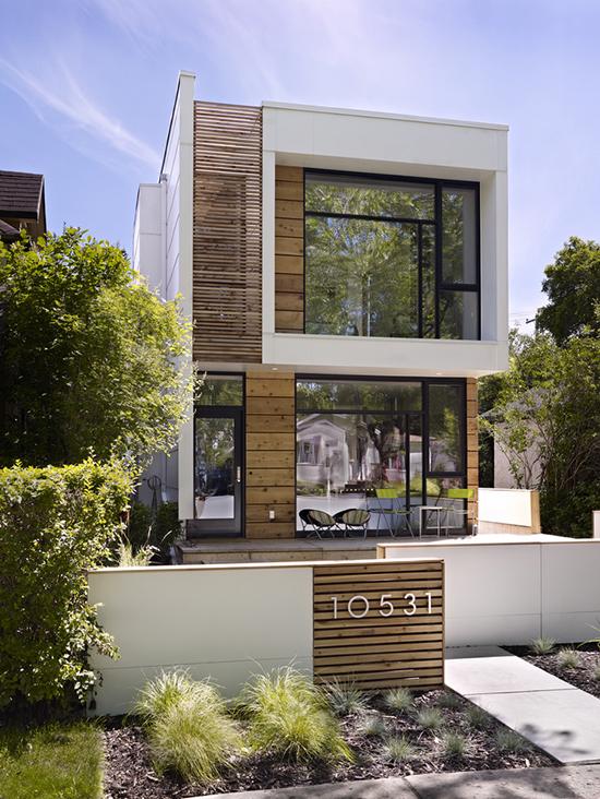 16 ide contoh nomor rumah sebagai aksen pagar