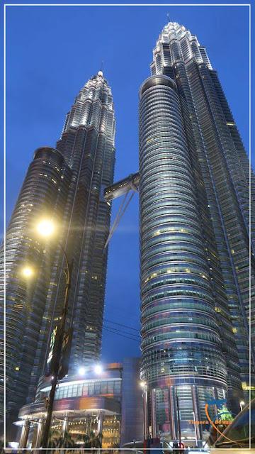 Torres Petronas, o maior símbolo de Kuala Lumpur
