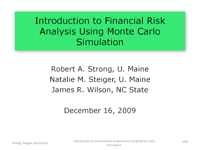 Introduction to Financial Risk Analysis pdf