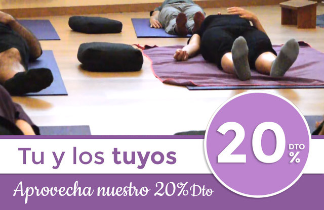 20% Dto en Yoga si traes un familiar