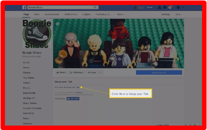 How To Add Instagram App On Facebook Page