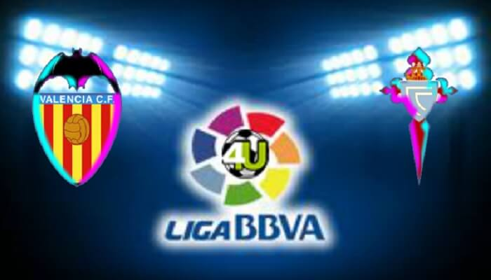 Ver Partido Valencia vs Celta Vigo ONLINE En Vivo