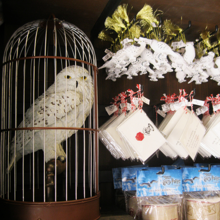 Hedwig Christmas Ornaments