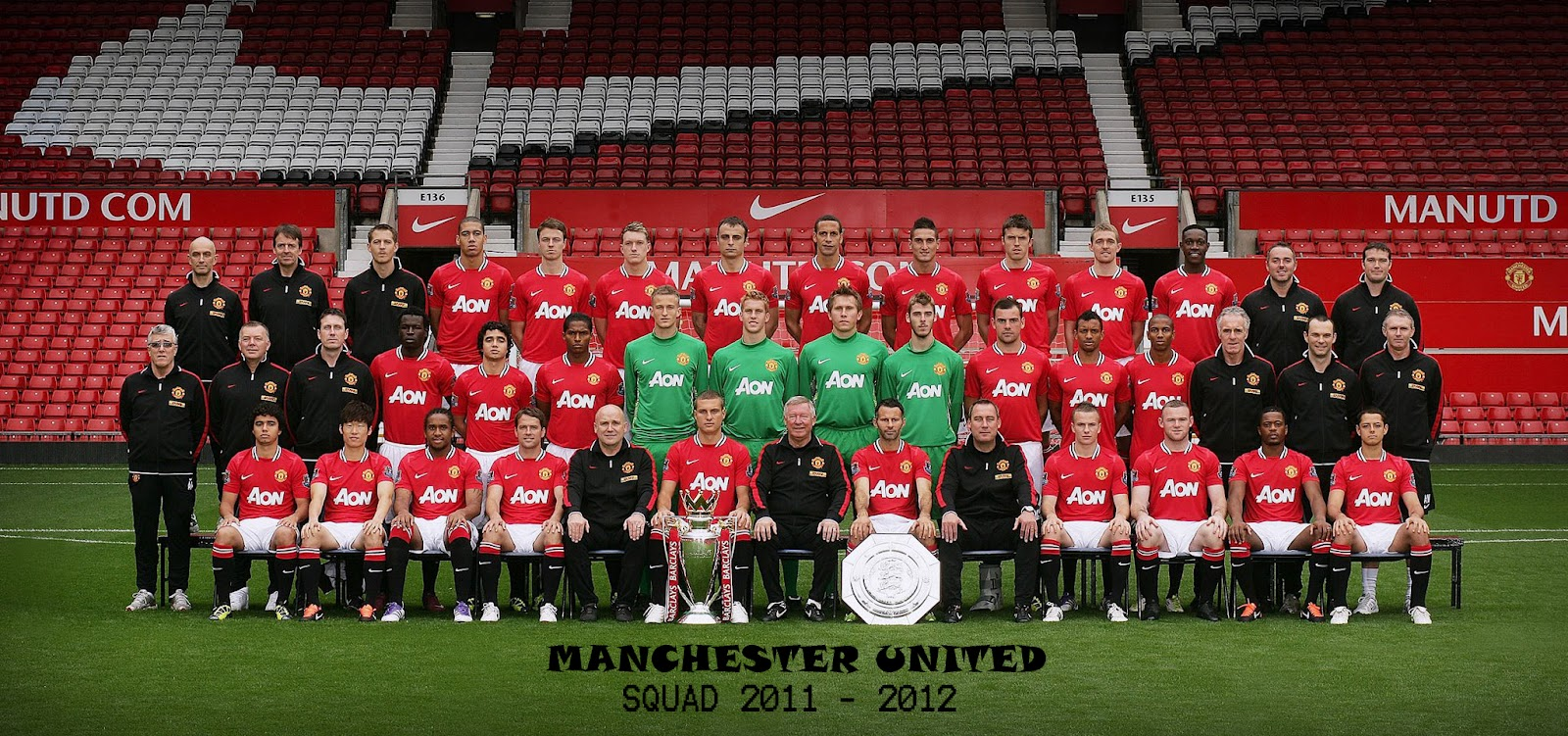 Manchester United Squad Manchester United 2011 12