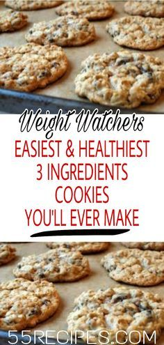 3-Ingredients Cookies You'll Ever Make