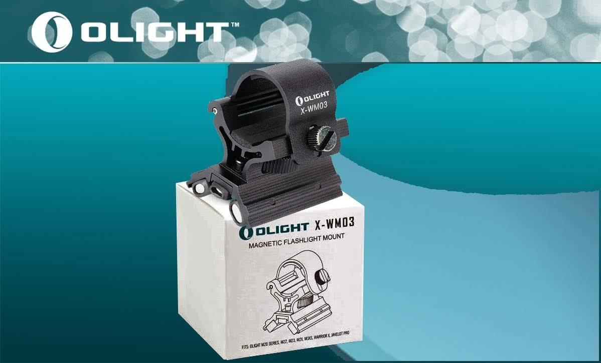 Olight X-WM03 — Обновленное магнитное крепление (3 поколения) на оружие