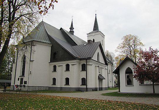 Sanktuarium Wniebowzięcia Najświętszej Marii Panny w Ludźmierzu.