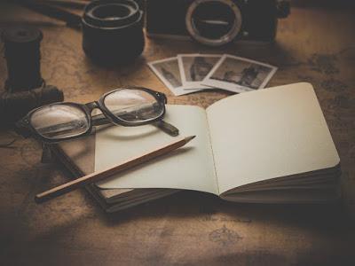 writing, glasses, notebook, pen, writers life, art
