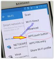 Samsung - WPs Push button