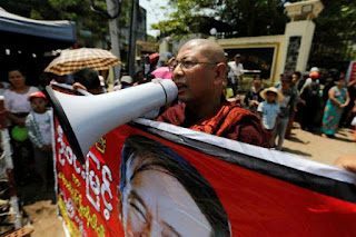 Facebook blacklists Myanmar hardline Buddhist group