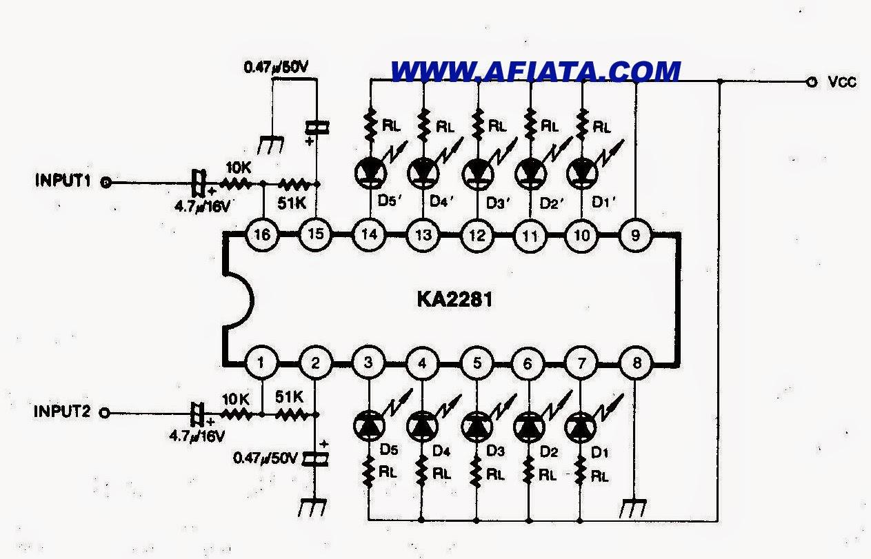 vu meter circuit 40 led 40 led vu meter