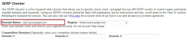 Cara Mengetahui Rangking Artikel Blog Anda Di Google Cara Mengetahui Rangking Artikel Blog Anda Di Google