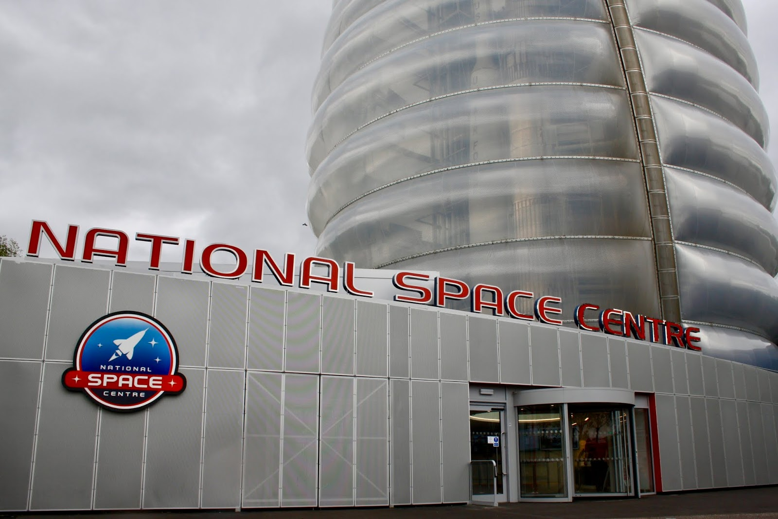the exterior of the National Space Centre, Leicester