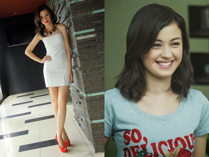 Kimberly Ryder pemain sinteron terbaru ini pamer paha mulus dengan gaun putih seksi