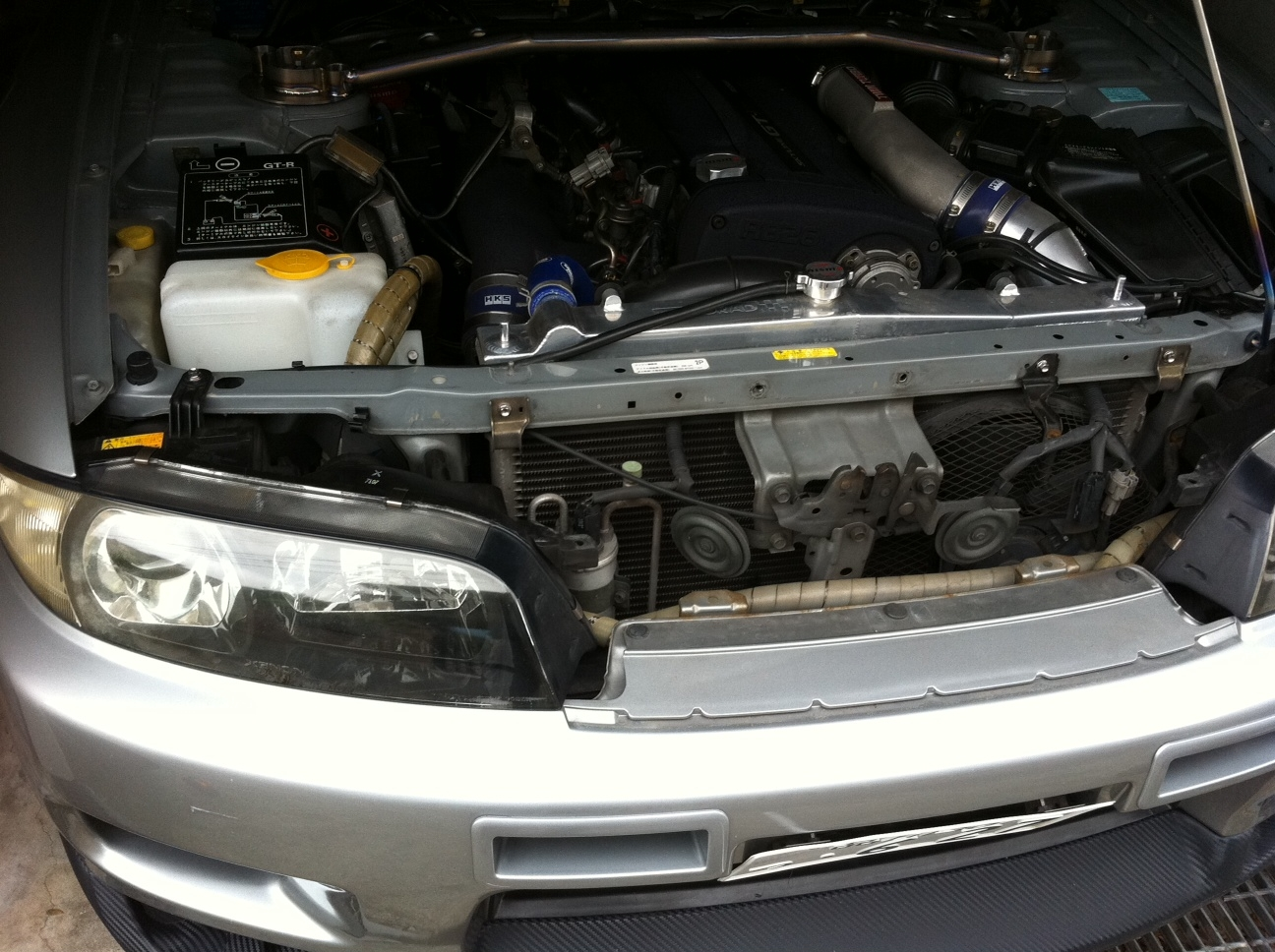 One Man's Lonely Adventures In His R33 Skyline GT-R