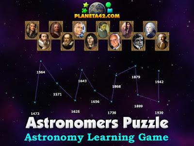 Астрономи Пъзел