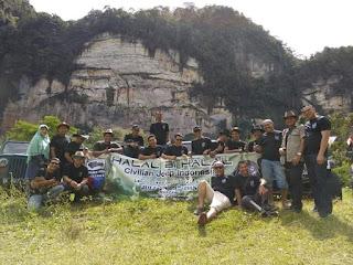 Halal Bi Halal Jeep Camp di Harau Payakumbuh Sumatera Barat,