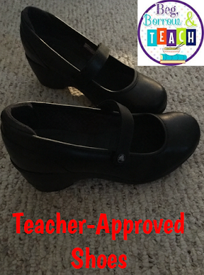 Teacher-Approved shoes for comfort, durability, and professionalism.