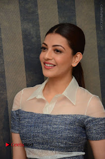 Actress Kajal Agarwal Latest Stills at Khaidi No 150 Movie Interview  0077.JPG