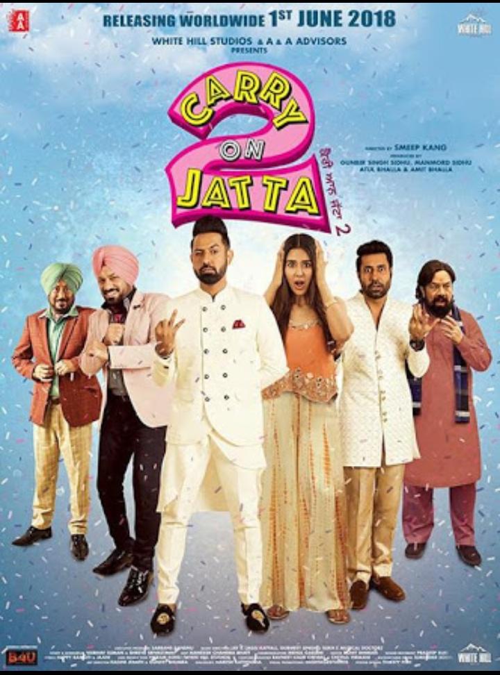 Carry On Jatta 2 Full HD Punjabi Movie Download 2018 - Jatt Movies