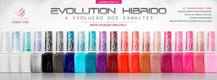 Coleção Evolution Híbrido da DNA Italy