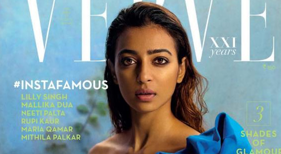 Radhika Apte Latest Photoshoot For Verve Photos