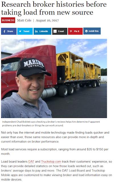 Trucking News - Boblett Brothers