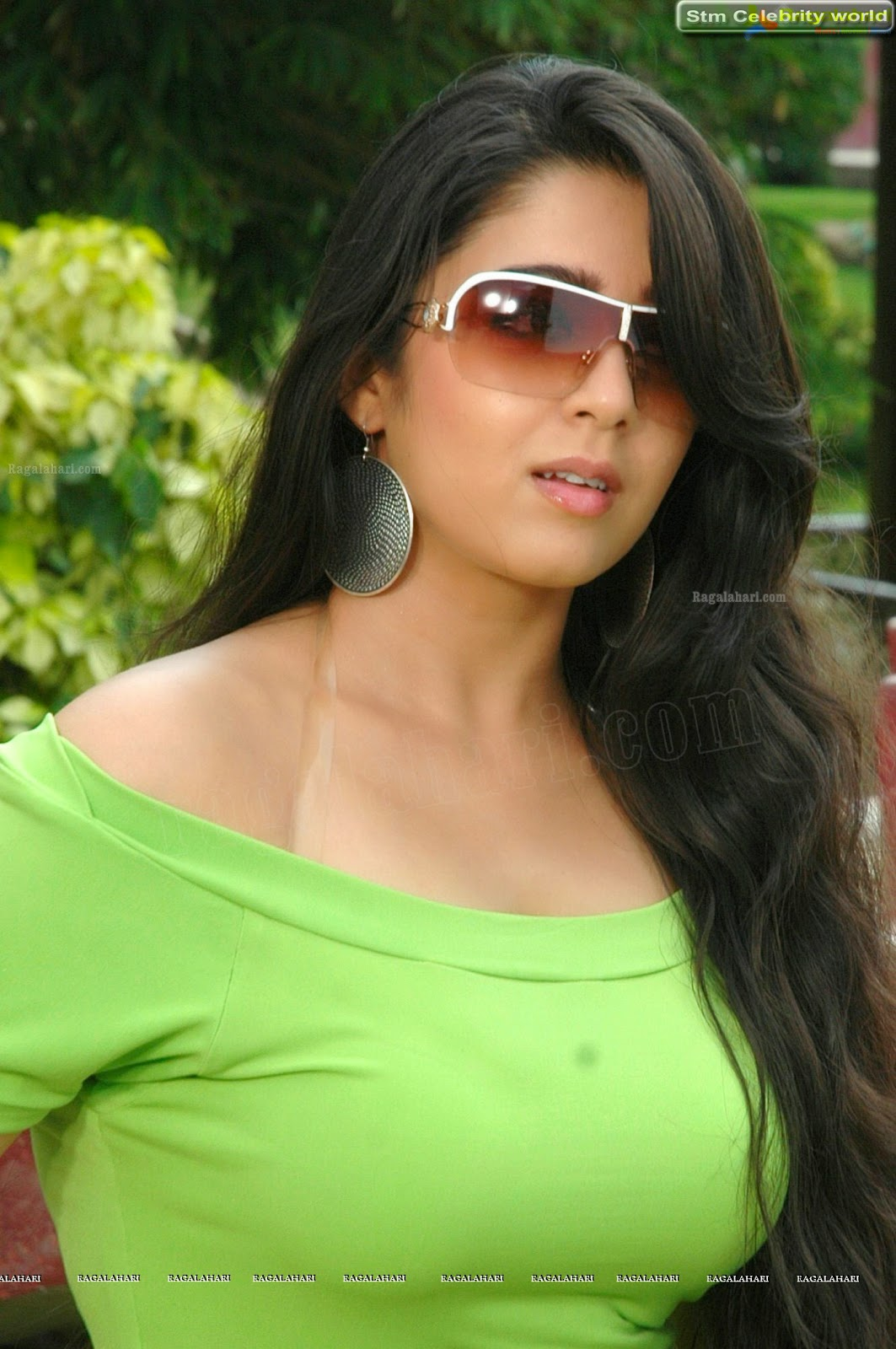 Charmy Kaur Latest Hot Photo Shoot-Watch The Hot Boobs Of -6430