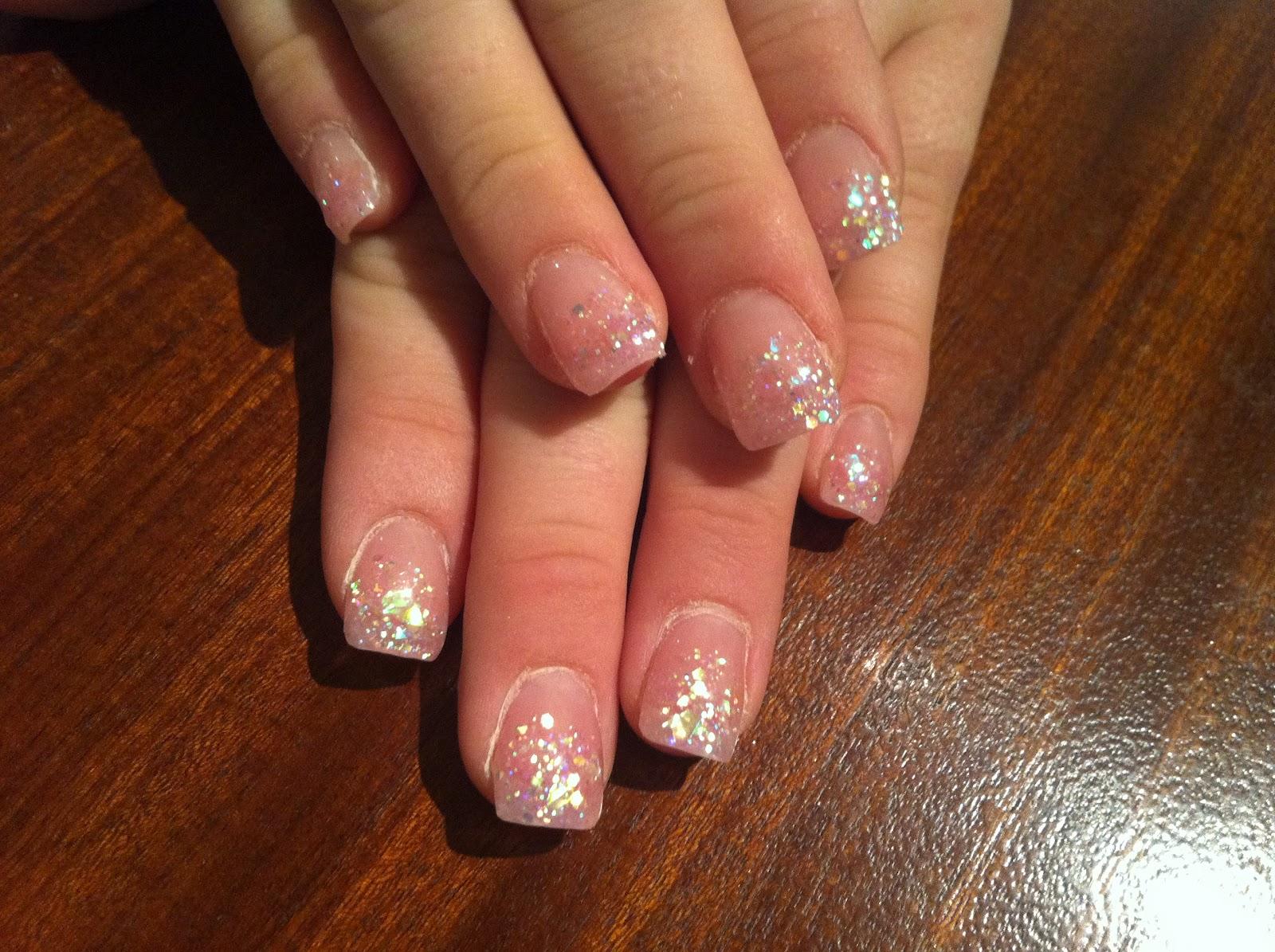 Amazing Lace Wedding Nails Frieze