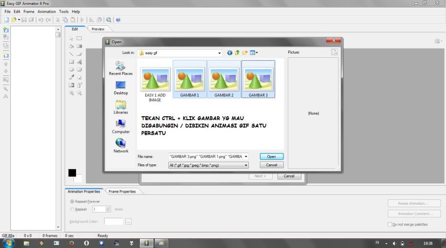Cara membuat gambar di blog bergerak sendiri - kangkomar.net