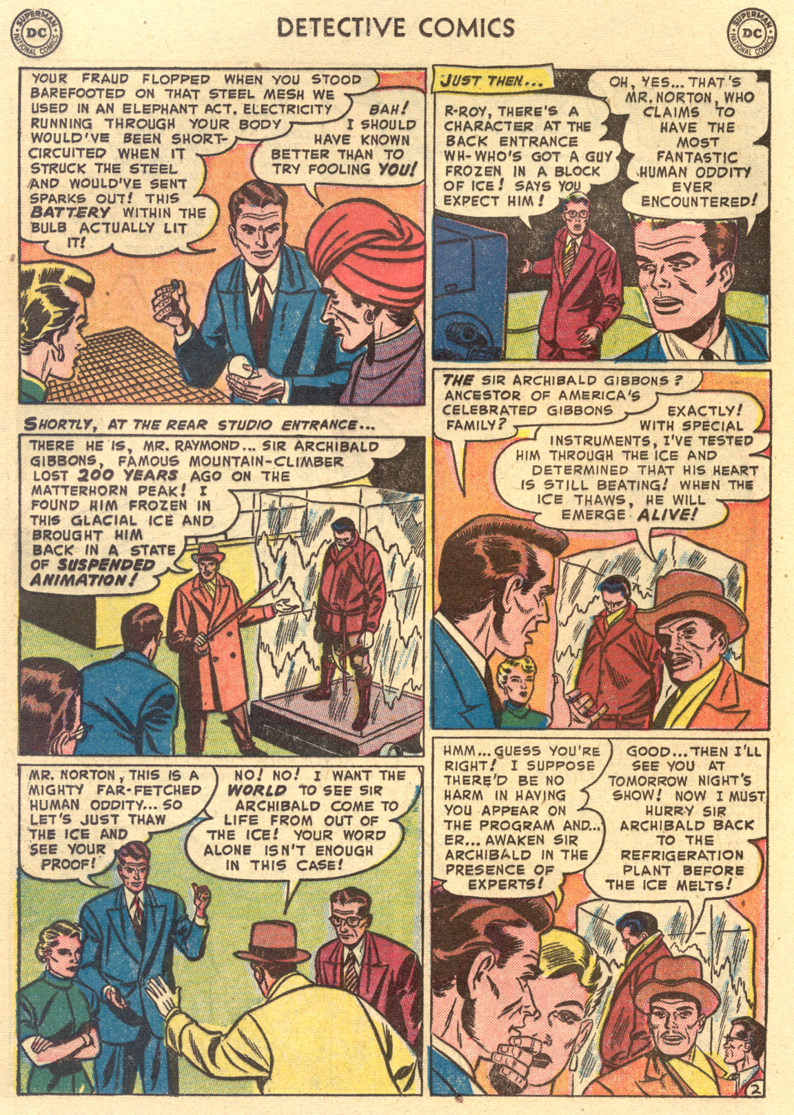 Read online Detective Comics (1937) comic -  Issue #194 - 18