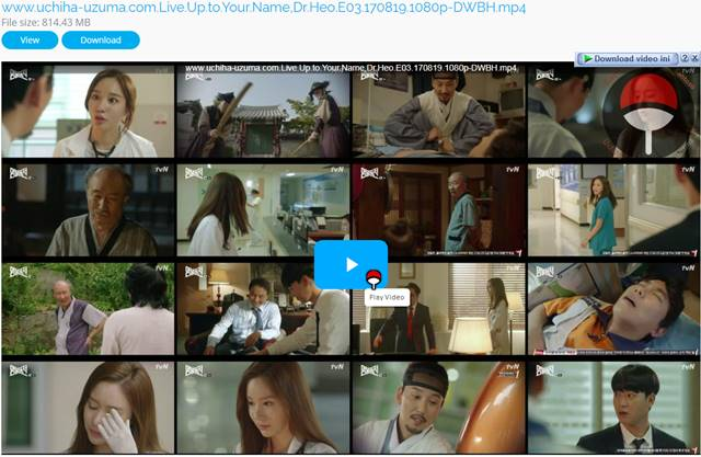 Screenshots Drama Korea Live Up to Your Name, Dr Heo aka Myeongbulheojeon aka Deserving of the Name aka 명불허전 (2017) Episode 03 1080p 720p 480p 360p Subtitle English Indonesia MP4