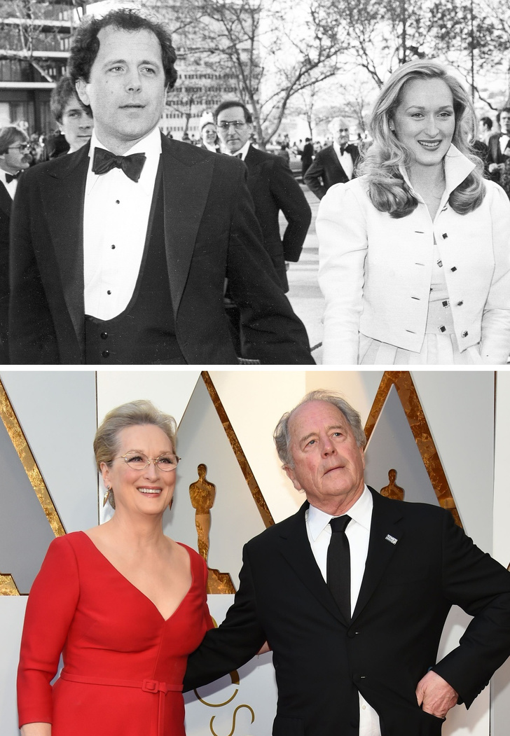 13 Then And Now Pictures Of Famous Women With Their Husbands And Kids