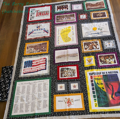 The Berry Bunch: 2015 Finish-A-Long: Band Shirt Memory Quilt