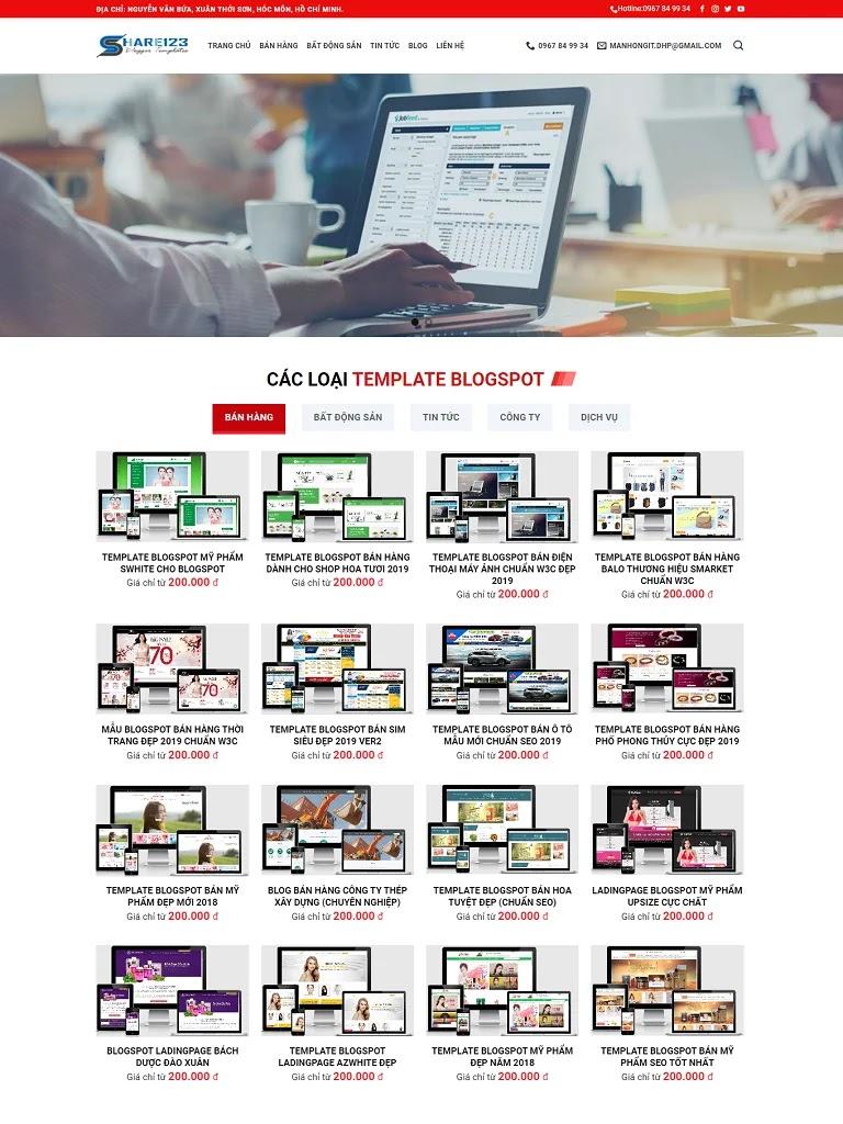 Theme flatsome bán hàng giao diện blogspot mẫu số 5 - Ảnh 2