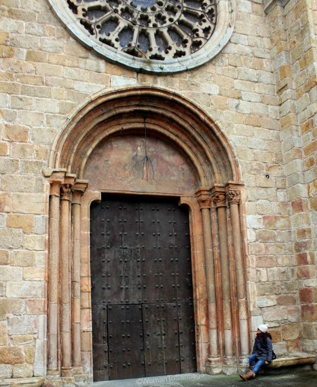 foto de la puerta de la catedral