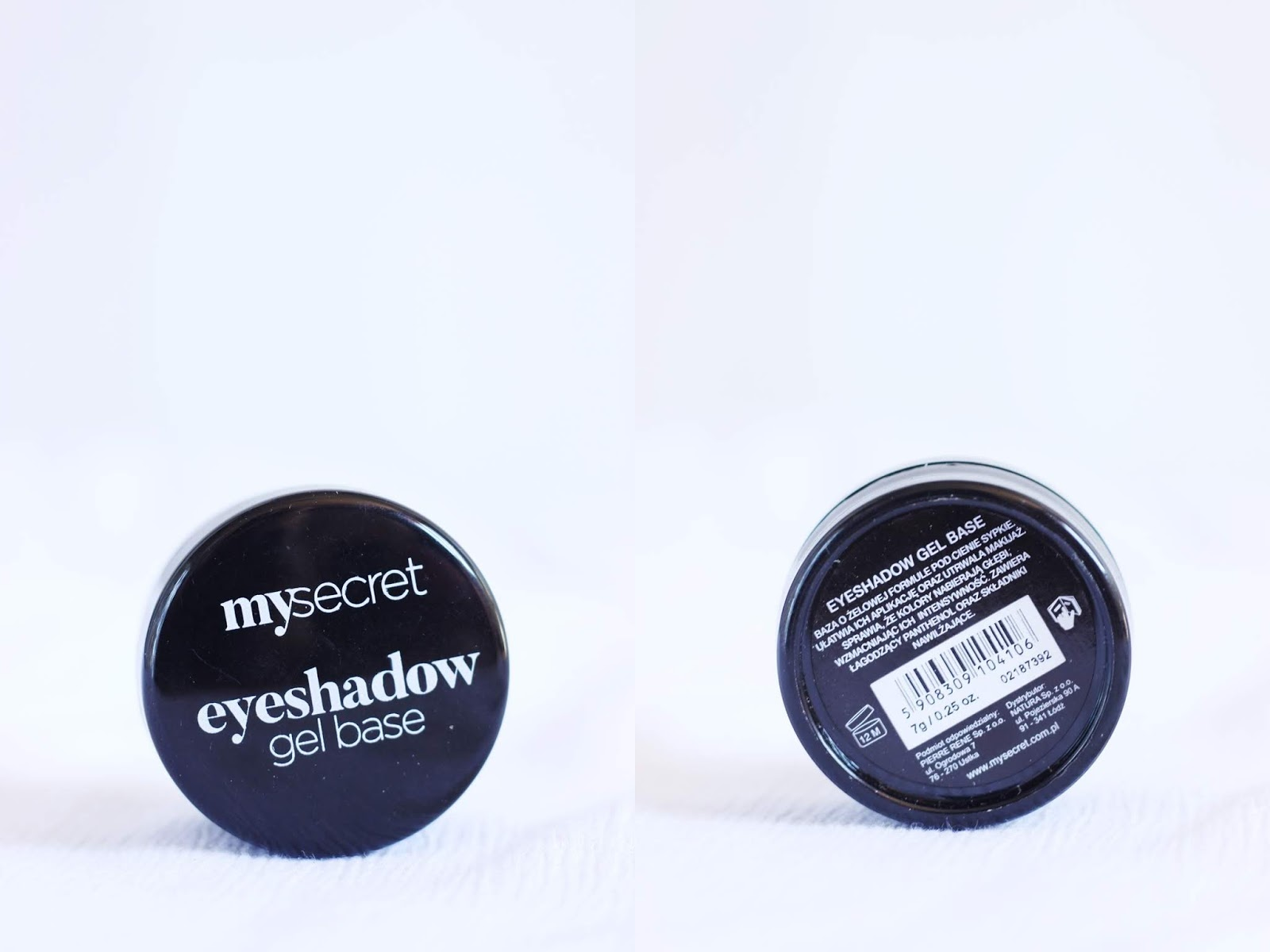 eyeshadow base żel baza natura