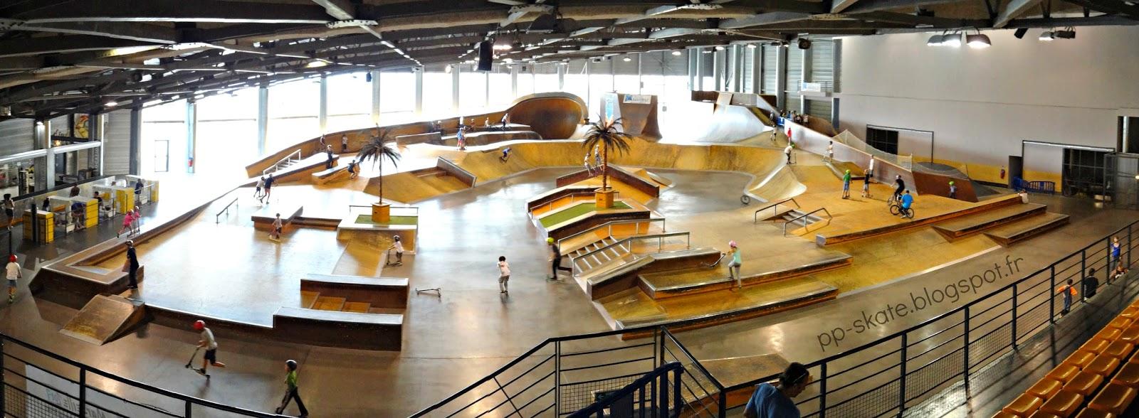 Skatepark palais omnisport marseille