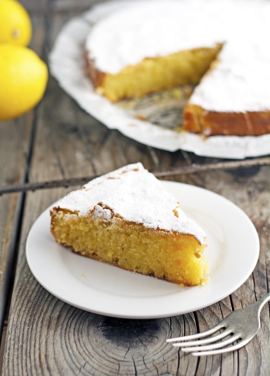 Caprese Lemon Cake (Gluten-Free)