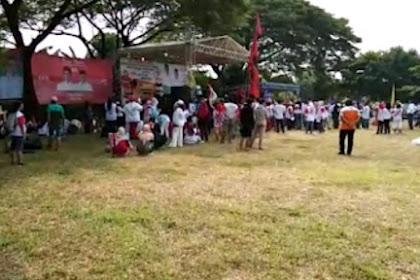 Meski Menghadirkan Angel Karamoy, Kampanye Jokowi-Amin di Bekasi Sepi