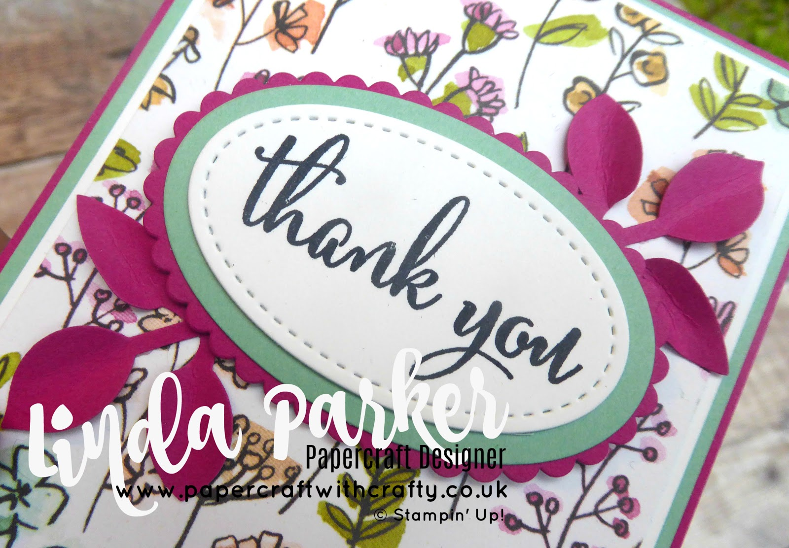 Linda Parker UK Independent Stampin' Up! Demonstrator from