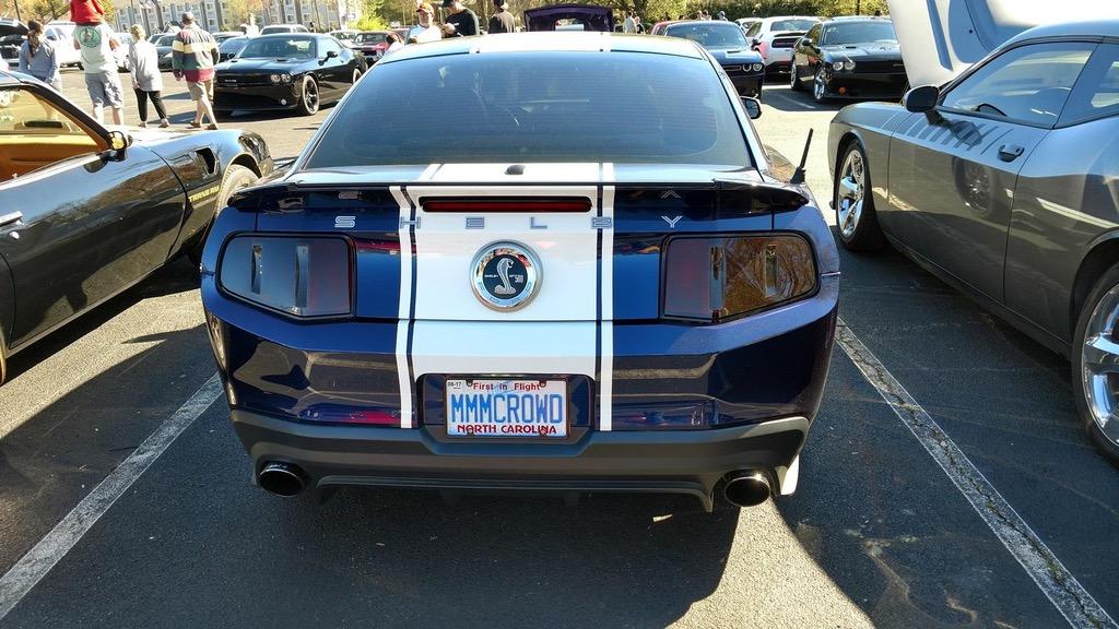 Ford Mustang Wears Self-Deprecating Plate Before Human Buffet ...